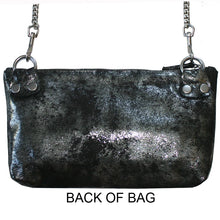 Load image into Gallery viewer, Patch Pocket Bag - Smoky Black Metallic