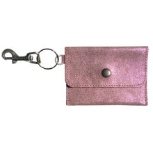 Load image into Gallery viewer, Coin Purse Key Chain - Pink Sparkly