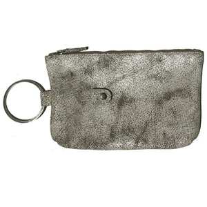 Ring Clutch - Crackle White