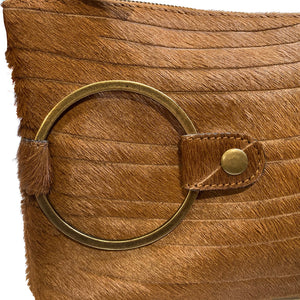 Ring Clutch - Sable Lazercut Fur