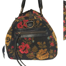 Load image into Gallery viewer, Large Classic Satchel - Vintage Black Foral