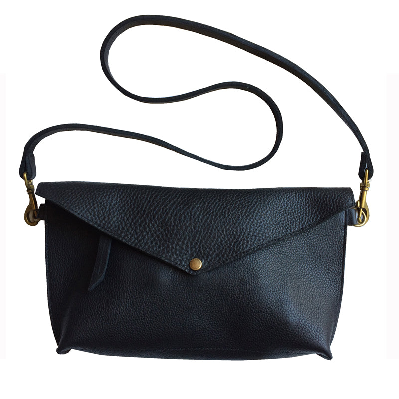 Seam-Out Crossbody - Black