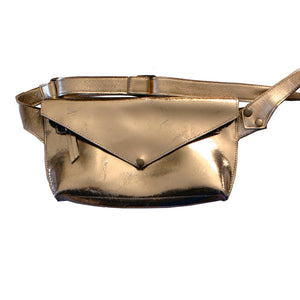 Solid Gold Seam-Out Fanny Pack