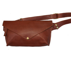 Seam-Out Fanny Pack - Rusty Brown
