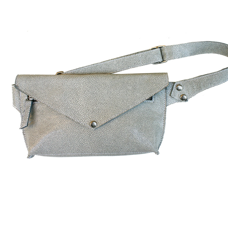Seam-Out Fanny Pack - White Eggshell