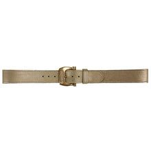 Load image into Gallery viewer, Slotted Buckle - Champagne Metallic