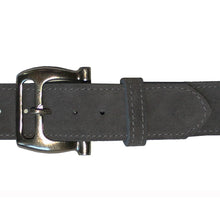 Load image into Gallery viewer, Slotted Buckle - Grey Suede
