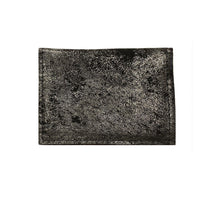 Load image into Gallery viewer, Folding Wallet - Smoky Black Metallic