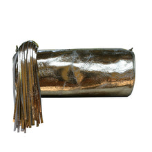 Load image into Gallery viewer, Cylinder Clutch - Solid Gold