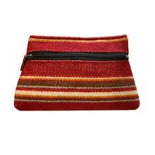 Load image into Gallery viewer, Cosmetic Bag - Sunset Stripe 1975