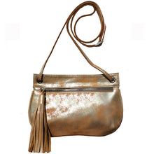 Load image into Gallery viewer, Tassel Bag - Dull Neutral Metallic