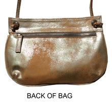 Load image into Gallery viewer, Tassle Bag - Dull Neutral Metallic