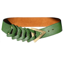 Load image into Gallery viewer, Triangle Waist Belt - Kelly Green