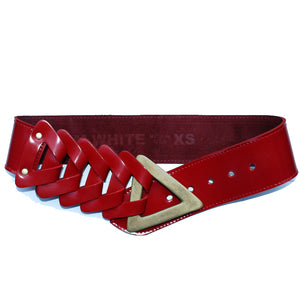 Triangle Waist Belt - Red