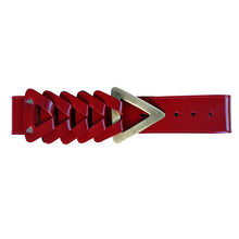 Load image into Gallery viewer, Triangle Waist Belt - Red