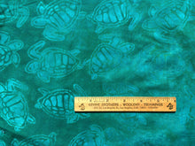 Load image into Gallery viewer, KW Mask - Aqua Turtles Batik