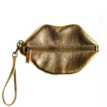 Load image into Gallery viewer, Kiss Wristlet - Gold
