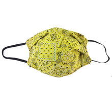 Load image into Gallery viewer, KW Mask - Yellow Bandana