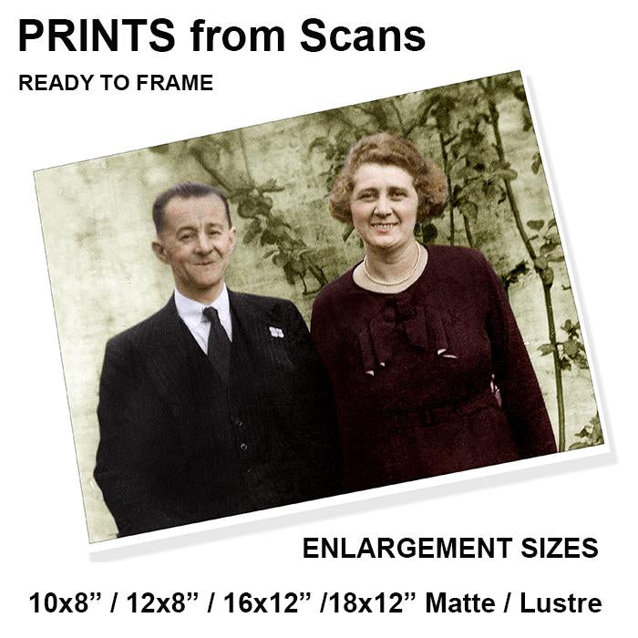Enlargements from Scans