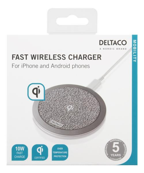 Fast Wireless Charger for iPhone and Android