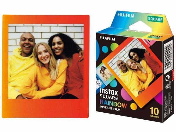 Fujifim Instax Square Rainbow Film 10 Pack