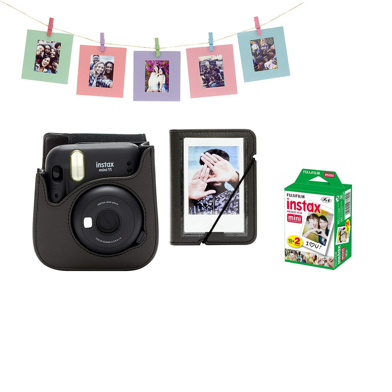 Fujifilm Instax Mini 11 Charcoal Grey (bundle options)