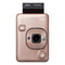 Fujifilm Instax LiPlay Blush Gold -Bundle with Neck Strap & Sock Cover