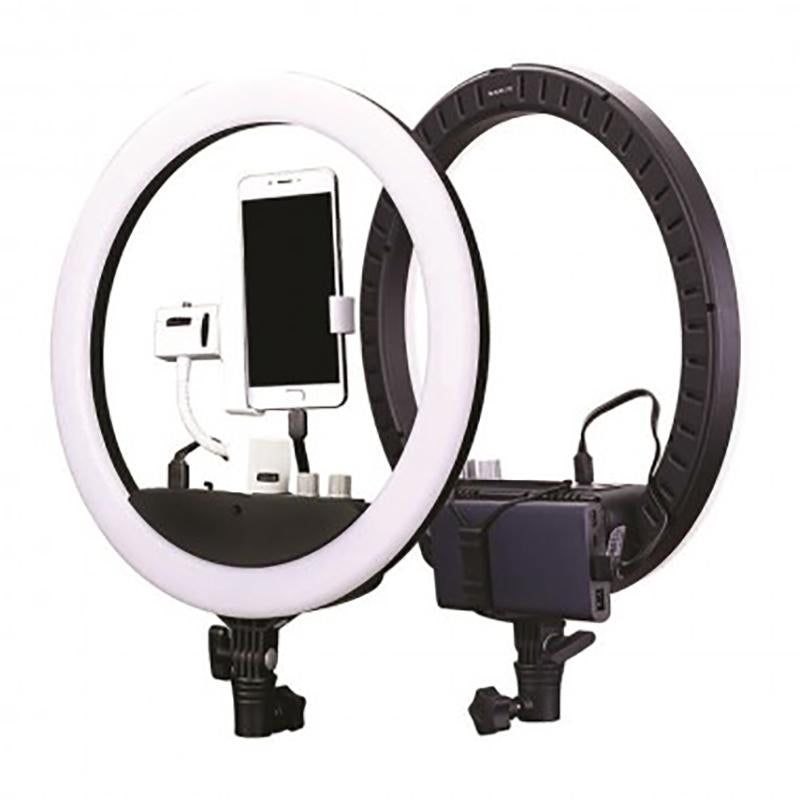 Nanlite Halo 14 LED Ring Light (with built in battery)