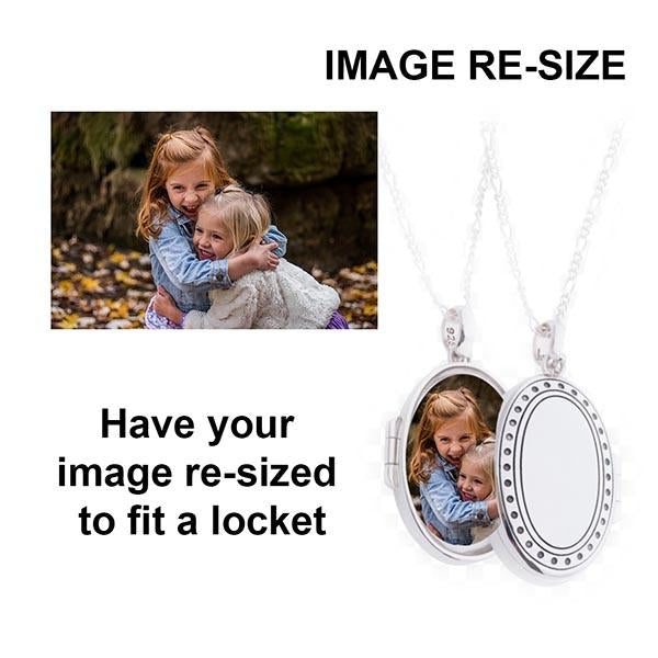Re-Size to fit locket