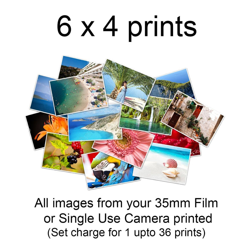 Film Develop + Print + Digital Delivery