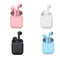 Streetz True Wireless Ear Buds  ( Pink, Blue, White, Black)