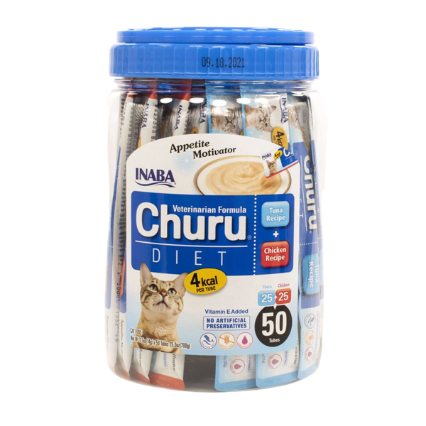 Churu Diet Tuna & Chicken Recipe 50 stk dunkur