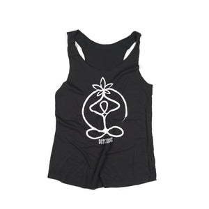 Cannabis/Marijuana/CBD Leaf Prayer Meditation Ladies 420 stoner Tank Top - leaftoember.com