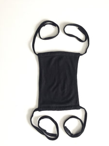 Organic Hemp & Organic Cotton Face Mask with Adjustable Straps - leaftoember.com