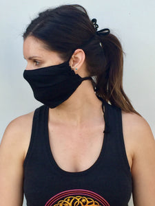 Face Mask Hemp/Organic Cotton Face Mask Washable and Reusable Face Mask Adjustable Face Mask - leaftoember.com