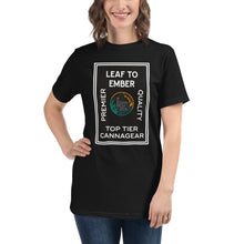 Load image into Gallery viewer, Four Element 100% Organic Cotton Cannabis T-Shirt, Unisex - leaftoember.com