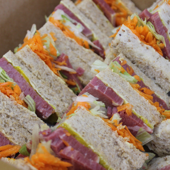 Sandwich - Corned Beef, Carrot, Lettuce, Pickles