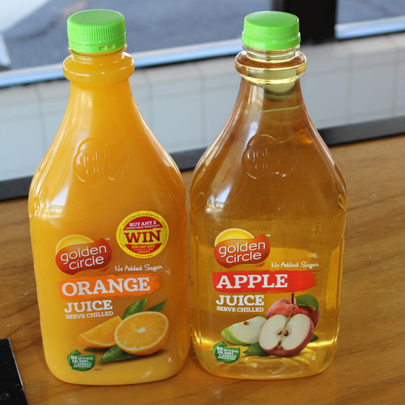 Beverages - 2 litre Juice