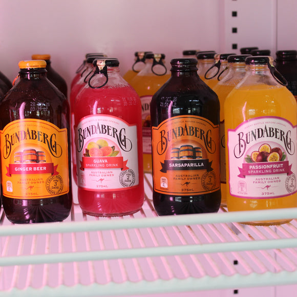 Beverages - Bundaberg Soft Drinks - Assorted