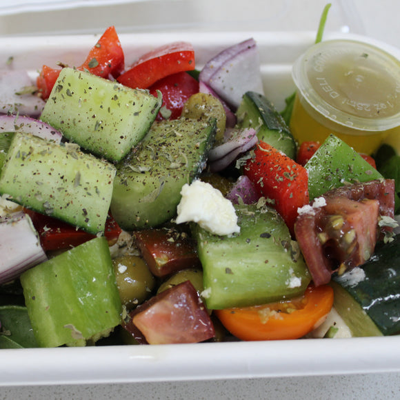 Lunch Box - Classic Greek Salad, Oregano Lemon Dressing (veg, gf)