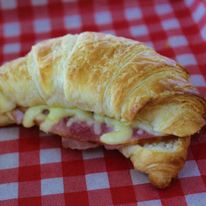 Breakfast - Ham & Cheese Croissant