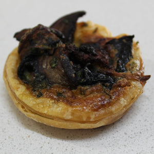 Fingerfood - Mini Quiche - Mushroom & Edam (tray of 10)