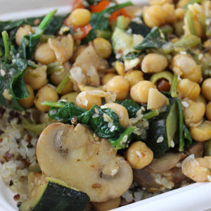 Lunch Box - Vegetable, Chickpea & Lemon Tagine, Quinoa (gf, df, veg)