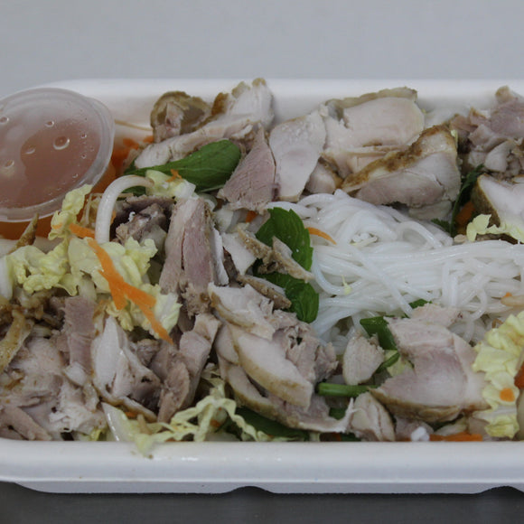 Lunch Box - Vietnamese Chicken Rice Noodle Salad (gf,df)