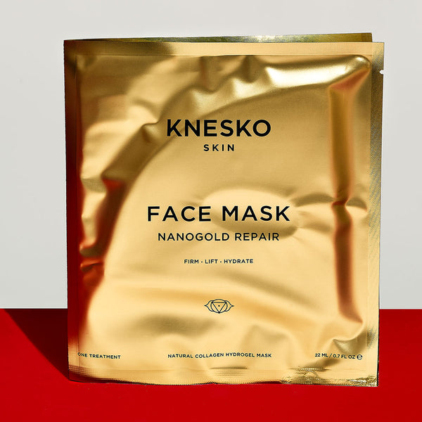 KNESKO Skin Nanogold Repair Natural Collagen Face Mask