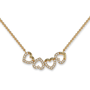 Hearts for LOVE Necklace