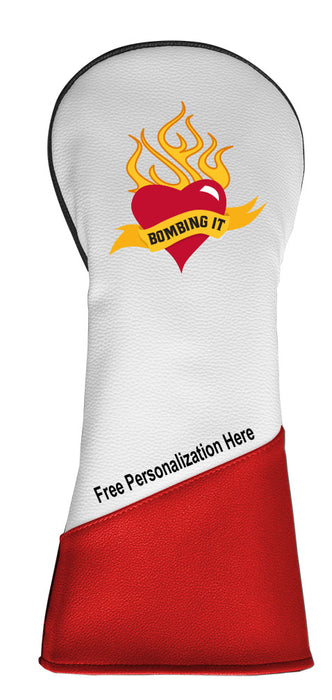 Bombing-it Driver Headcovers w/Free Personalization