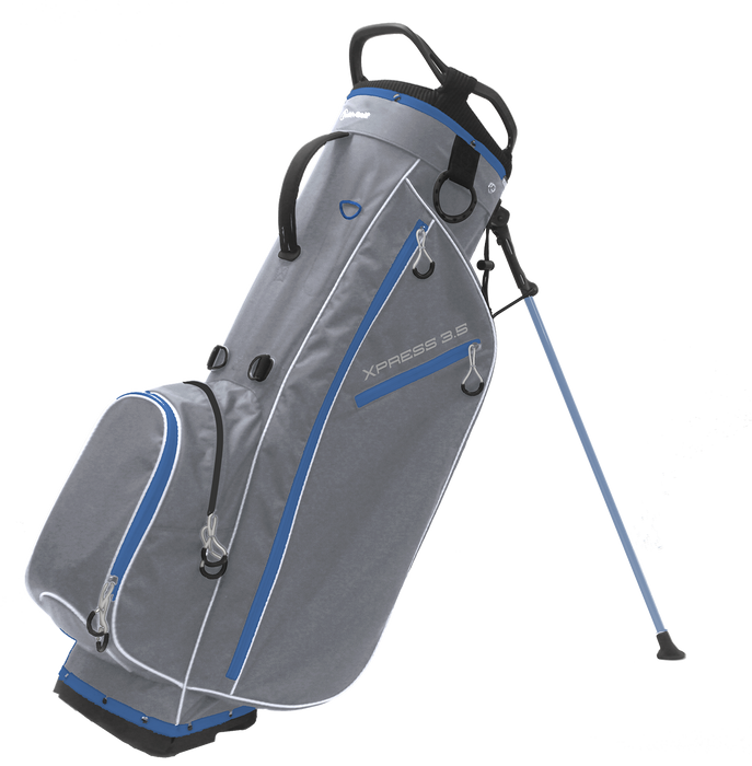 Xpress 3.5 4-way Stand Bag Light Gray/Sky Blue