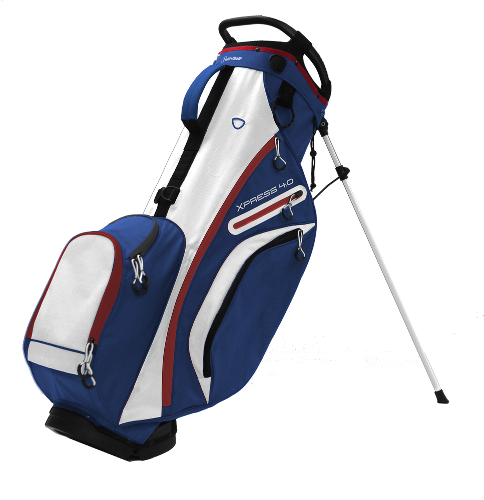 Xpress 4.0 6-way Stand Bag Navy/Red/White