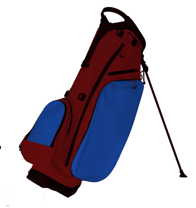 Fully Custom Golf Bag Maroon